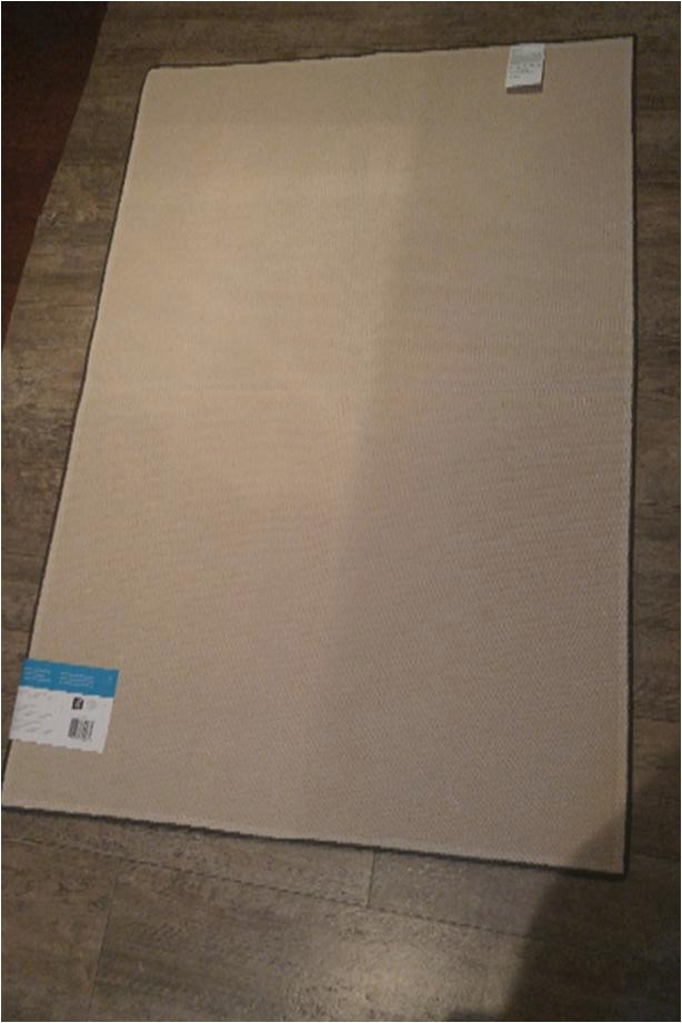 new small area rug measures 30 x 45 inch firm on price