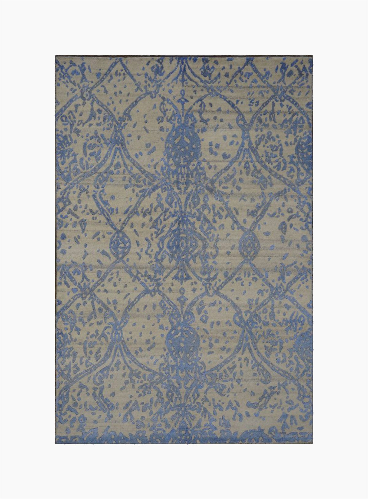 area rugs india nepal modern 4 x 6 blue