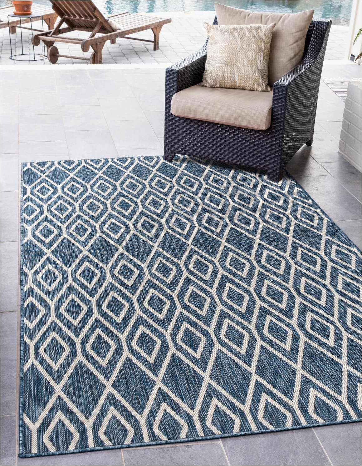 blue 4x6 jill zarin outdoor area rug