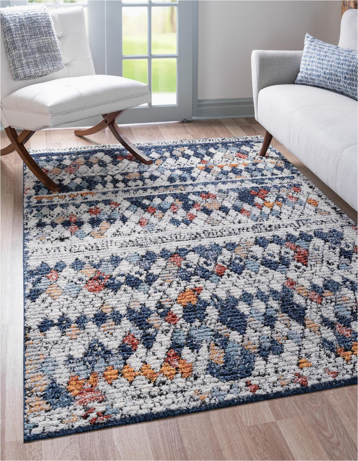 navy blue 4x6 morocco area rug