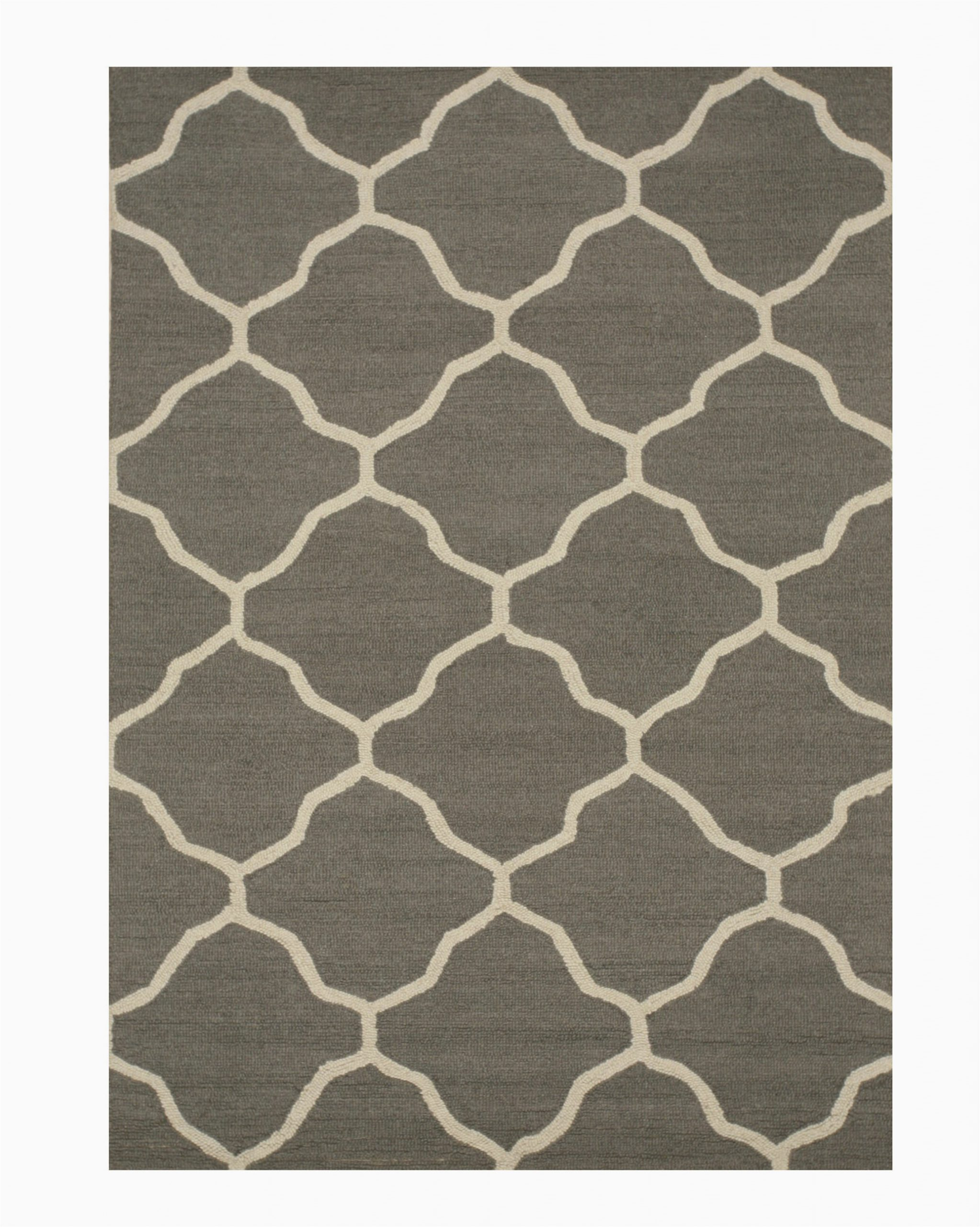 durrant handmade tufted 5 x 7 wool gray area rug