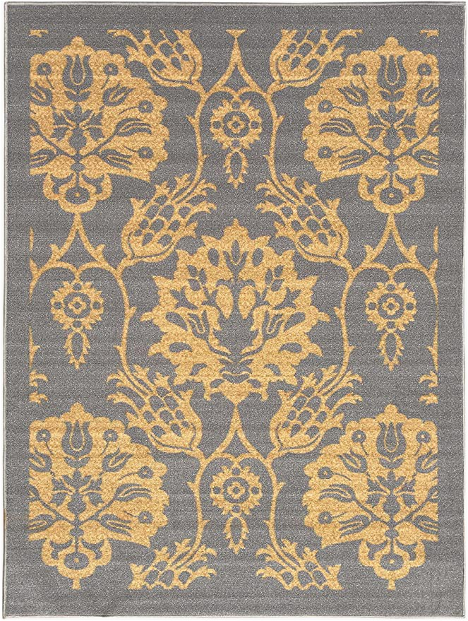 5×7 Latex Backed area Rugs 5 Feet X 7 Feet Non Skid Rubber Backed area Rug