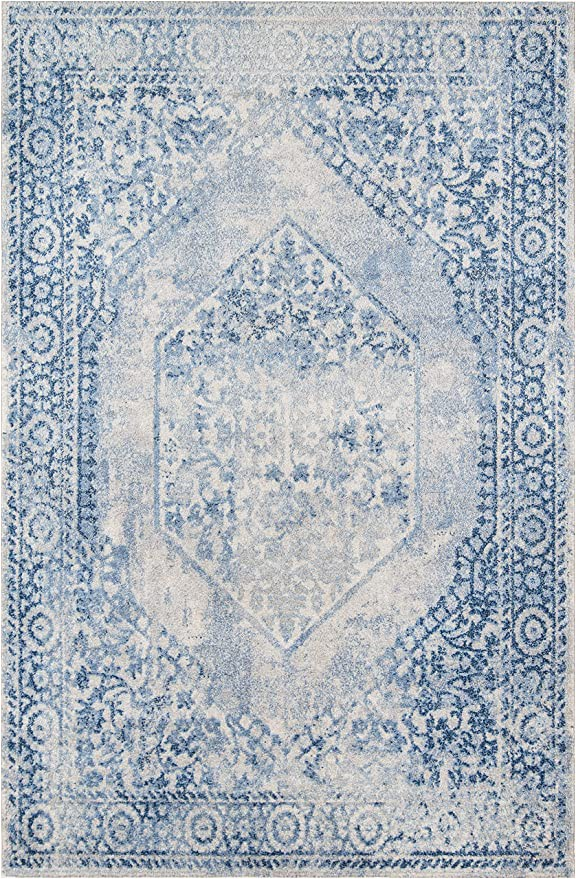 "7 X 10 Blue area Rug Amazon Momeni Haley Blue area Rug 7 10"" X 10 10"