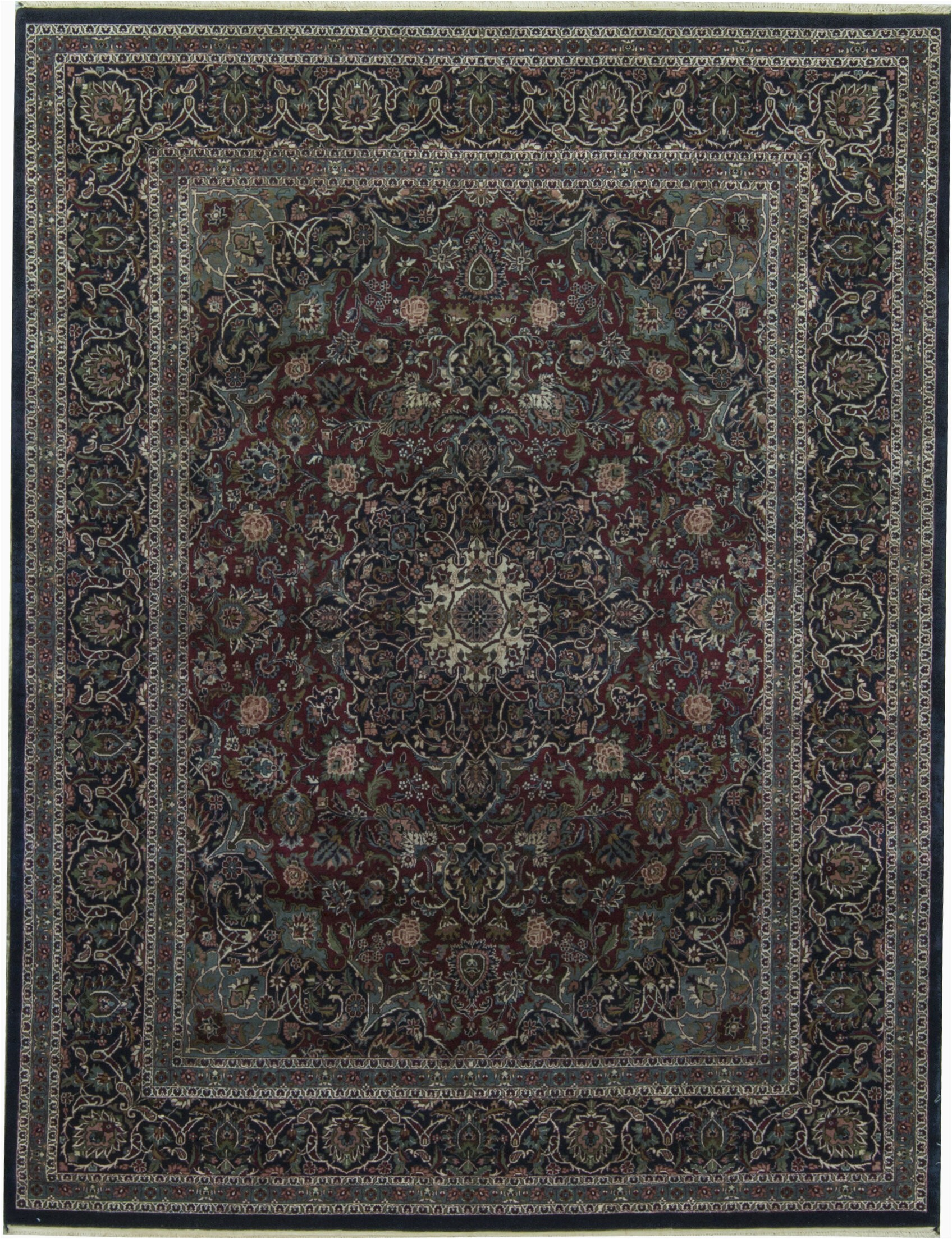 bokara rug co inc one of a kind gramercy 710 x 101 hand knotted wool redblue area rug abhd9136