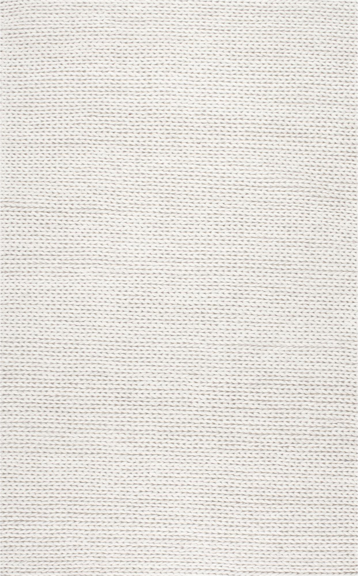 nuloom wool 8 x 10 rectangle area rugs in off white finish 200cb01 8010