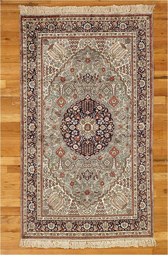 Amazon 3 by 5 area Rugs Amazon Gray Handmade Rugs 3 X 5 Fine Quality New Silk