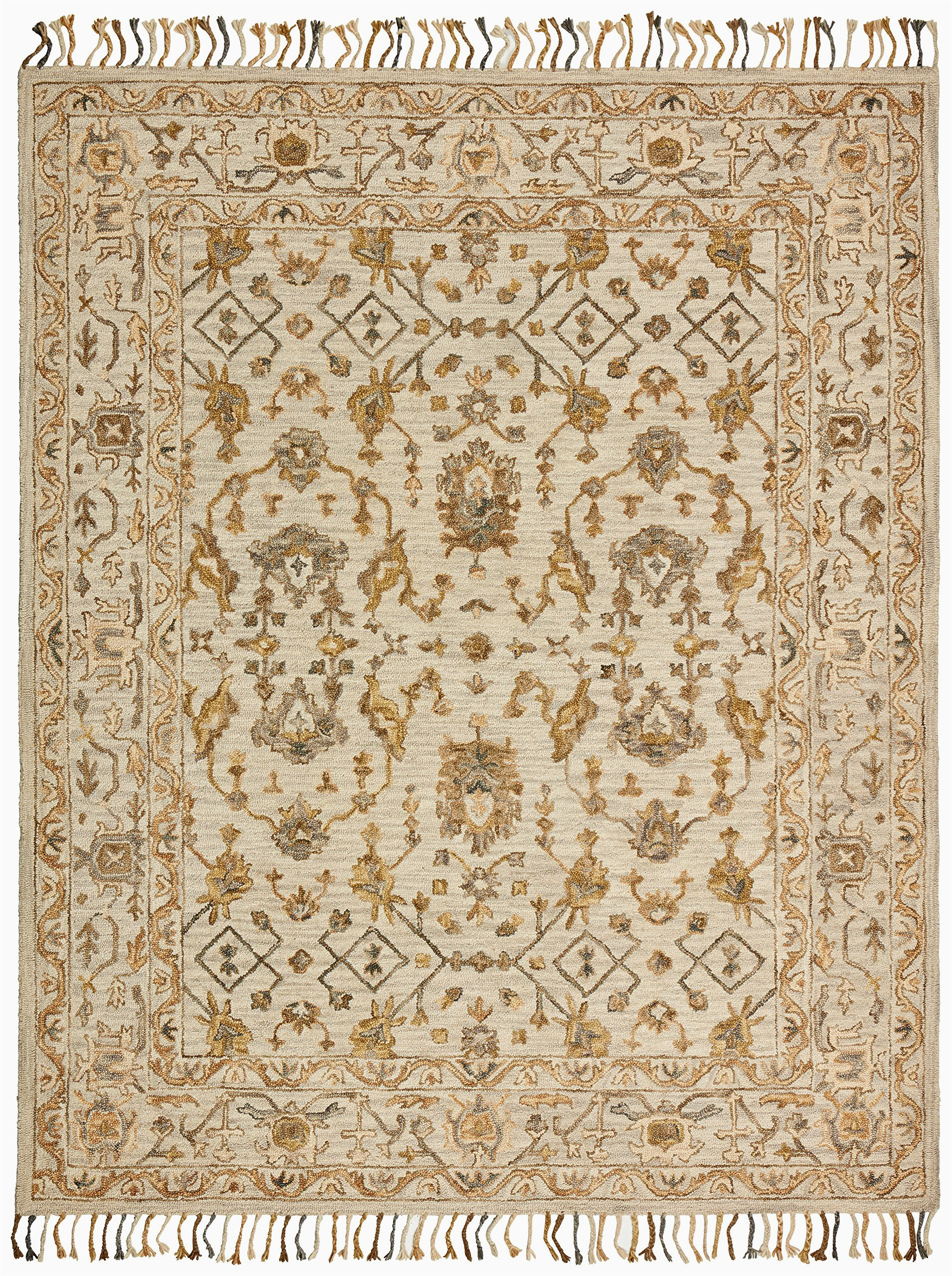 Amazon 5 by 8 area Rugs Amazon Brand – Stone & Beam Lottie Traditional Wool area Rug 5 X 8 Foot Beige