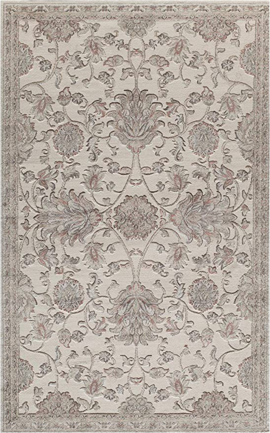 Amazon 5 by 8 area Rugs Rugs America Rv600c area Rug 5 X 8 Cream