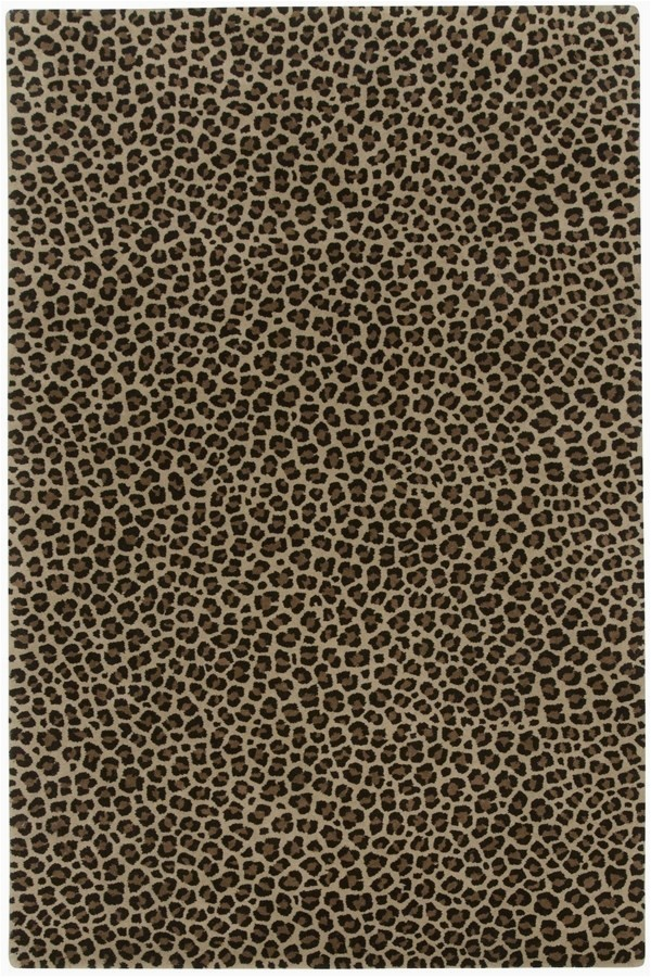 Animal Print area Rug 5×7 Capel Expedition Leopard area Rugs