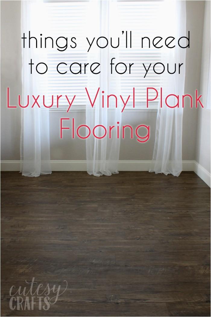 things need luxury vinyl plank