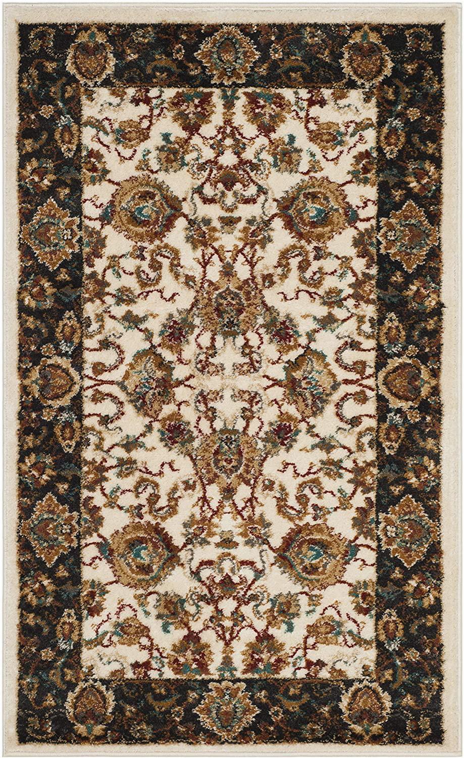 Area Rug Set Of 3 Safavieh Summit Collection Smt297p Ivory and Dark Grey area Rug 3 X 5