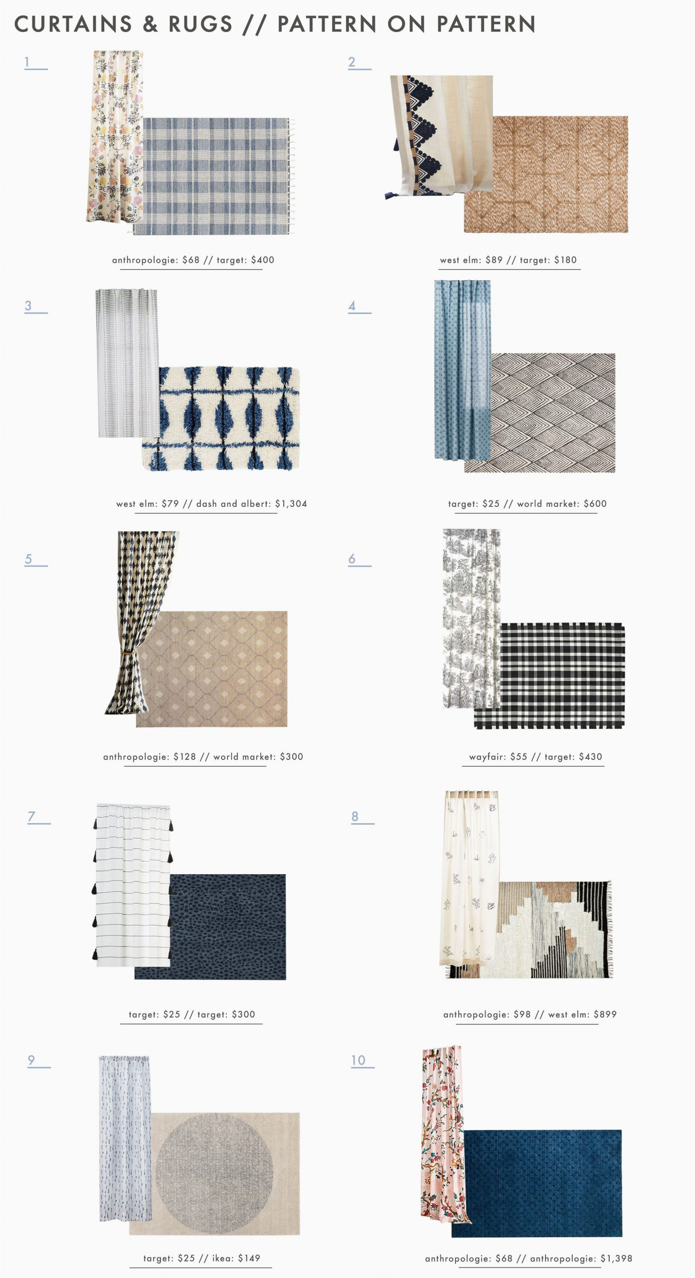 Area Rugs and Matching Pillows Power Couples How to Expertly Pair Curtains & Rugs 30