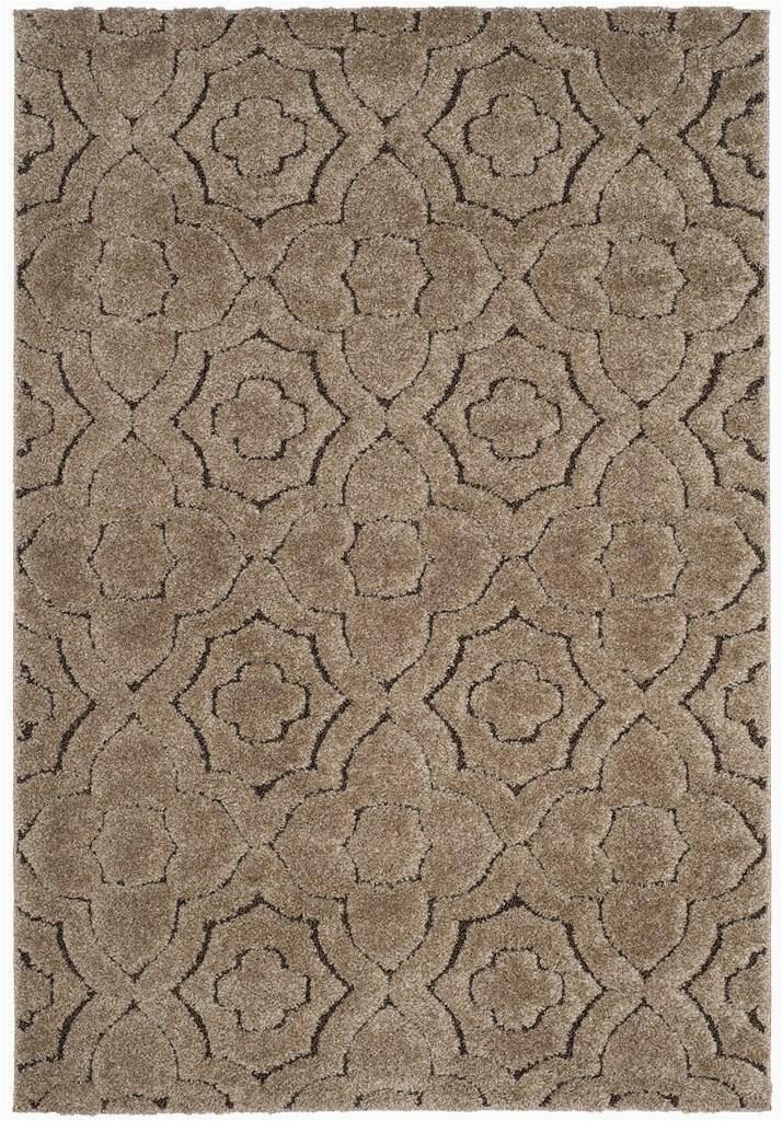safavieh memphis shag sg832r brown beige area rugx