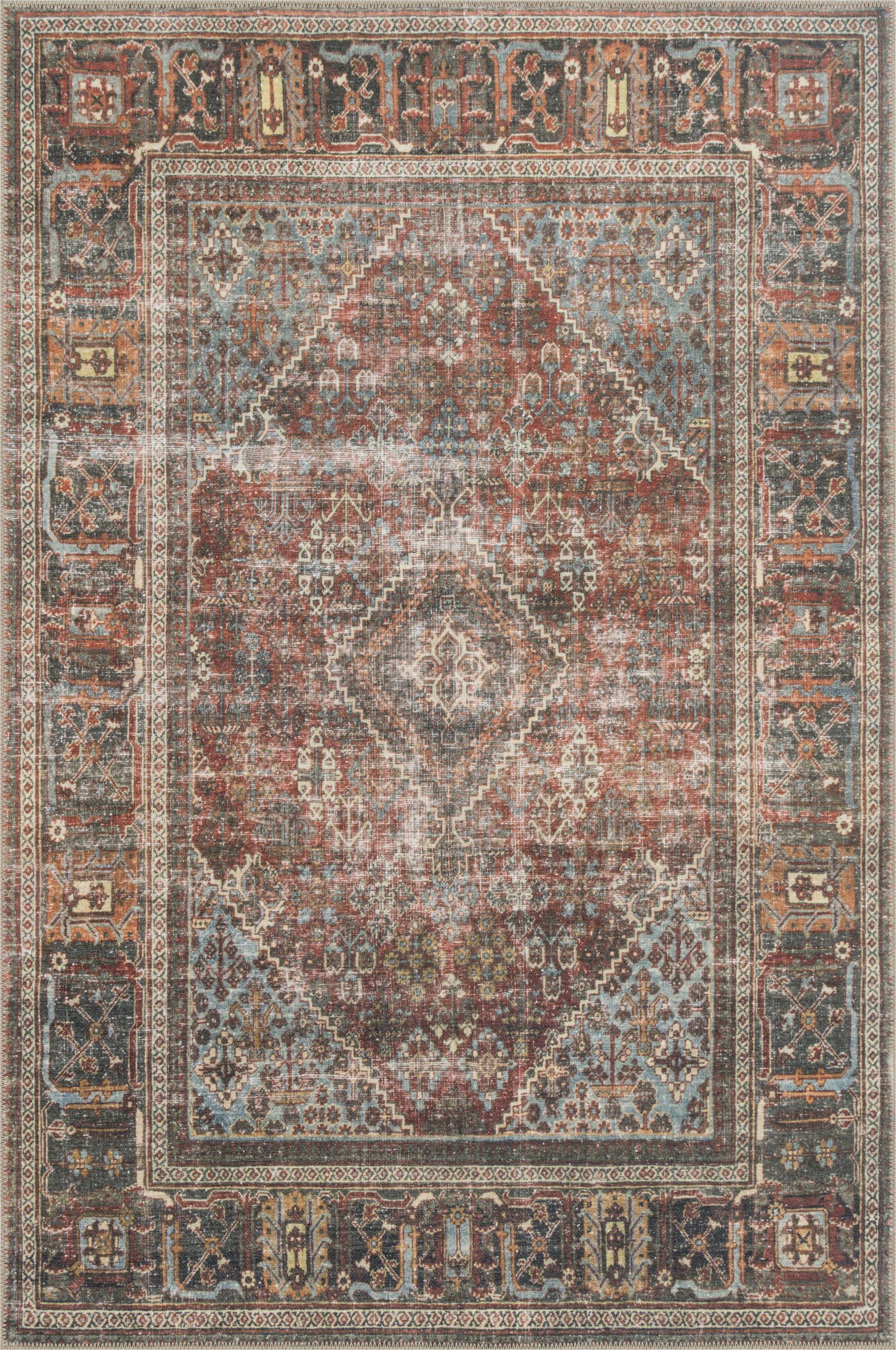 onderdonk oriental multicolor area rug
