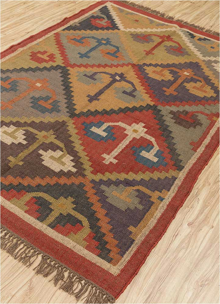 Area Rugs Made In India Handmade Jute Wool Rug Modern 5×3 Feet area Rug Indian