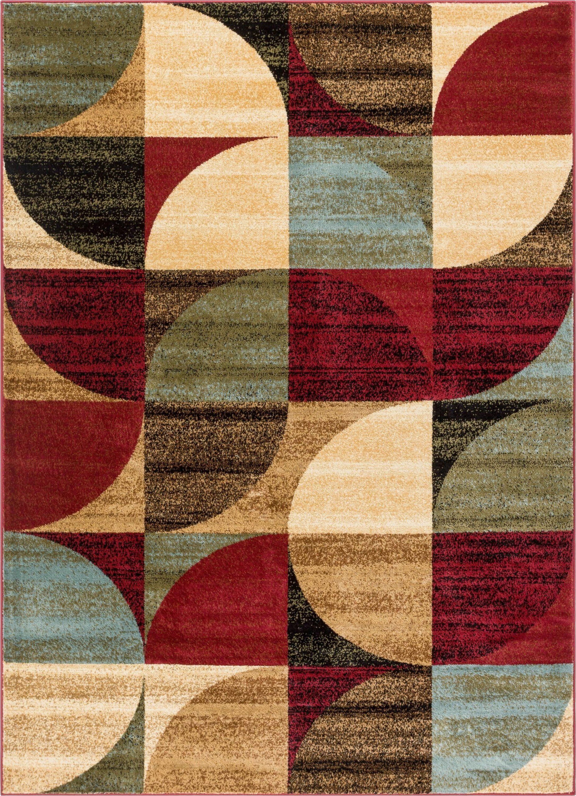 barclay bowery art deco geometric ivory area rug