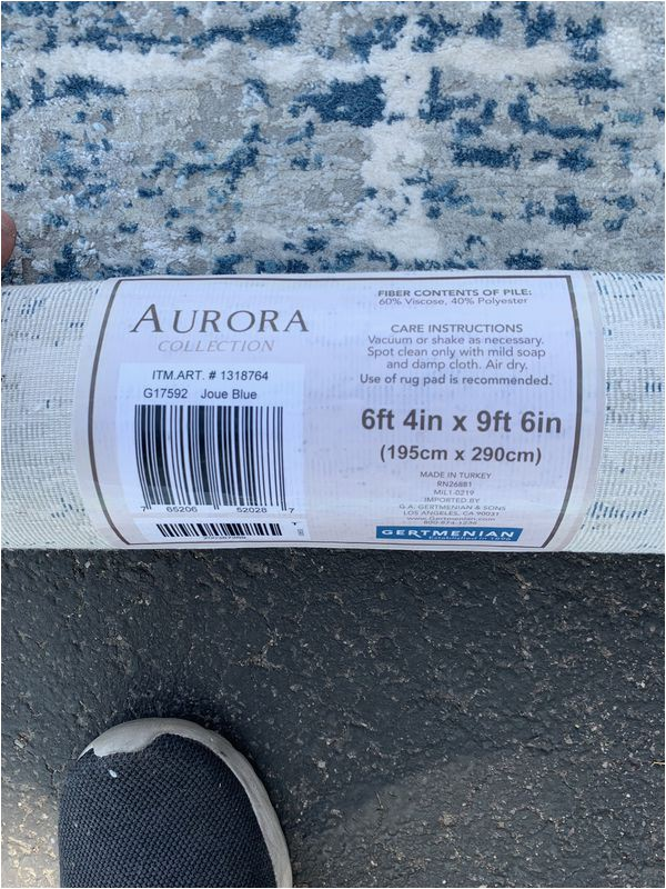 Aurora Rug Collection Joue Blue Aurora area Rug 6'4″ X 9'6″ Joue Blue for Sale In Tempe Az Ferup