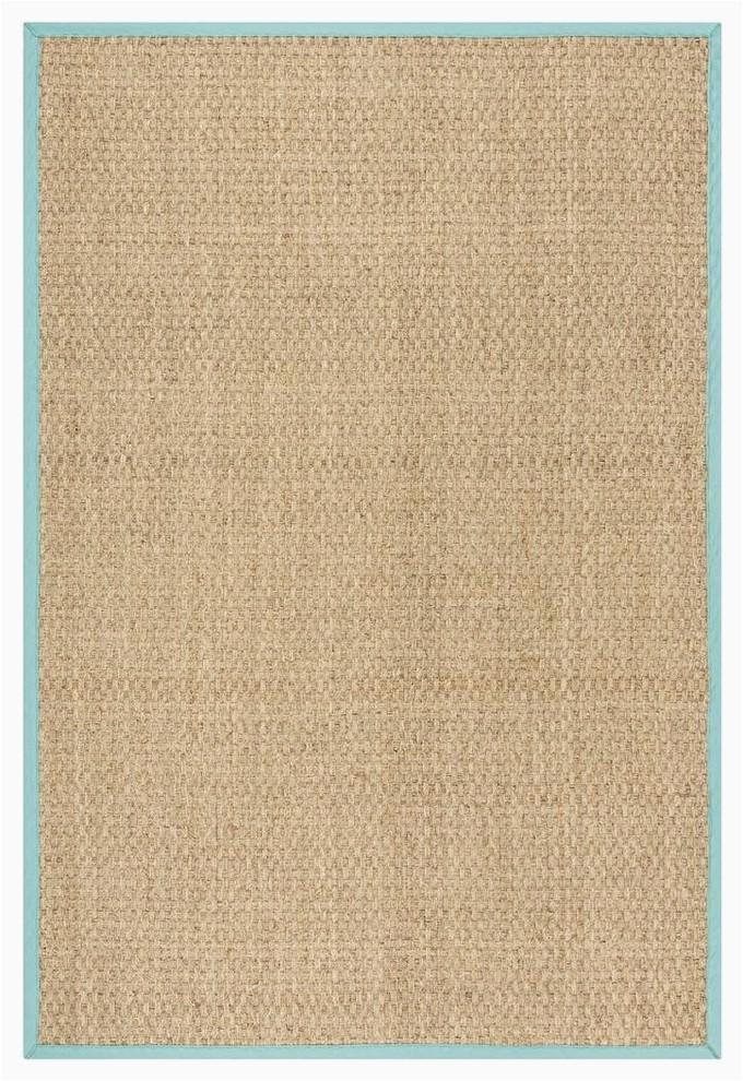 safavieh natural fiber nf114r area rug natural teal 4x6 prvw vr