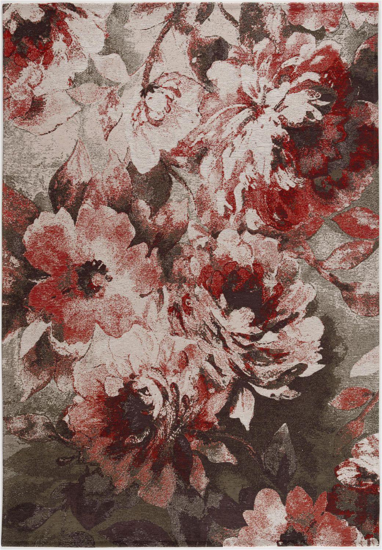 Bazaar area Rug Ultra soft Faux Fur Art Carpet Bazaar Confetti Flat Woven area Rug Floral 5 X 7