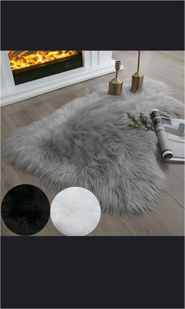 faux sheepskin fur rug soft fl 8588dc2c progressive