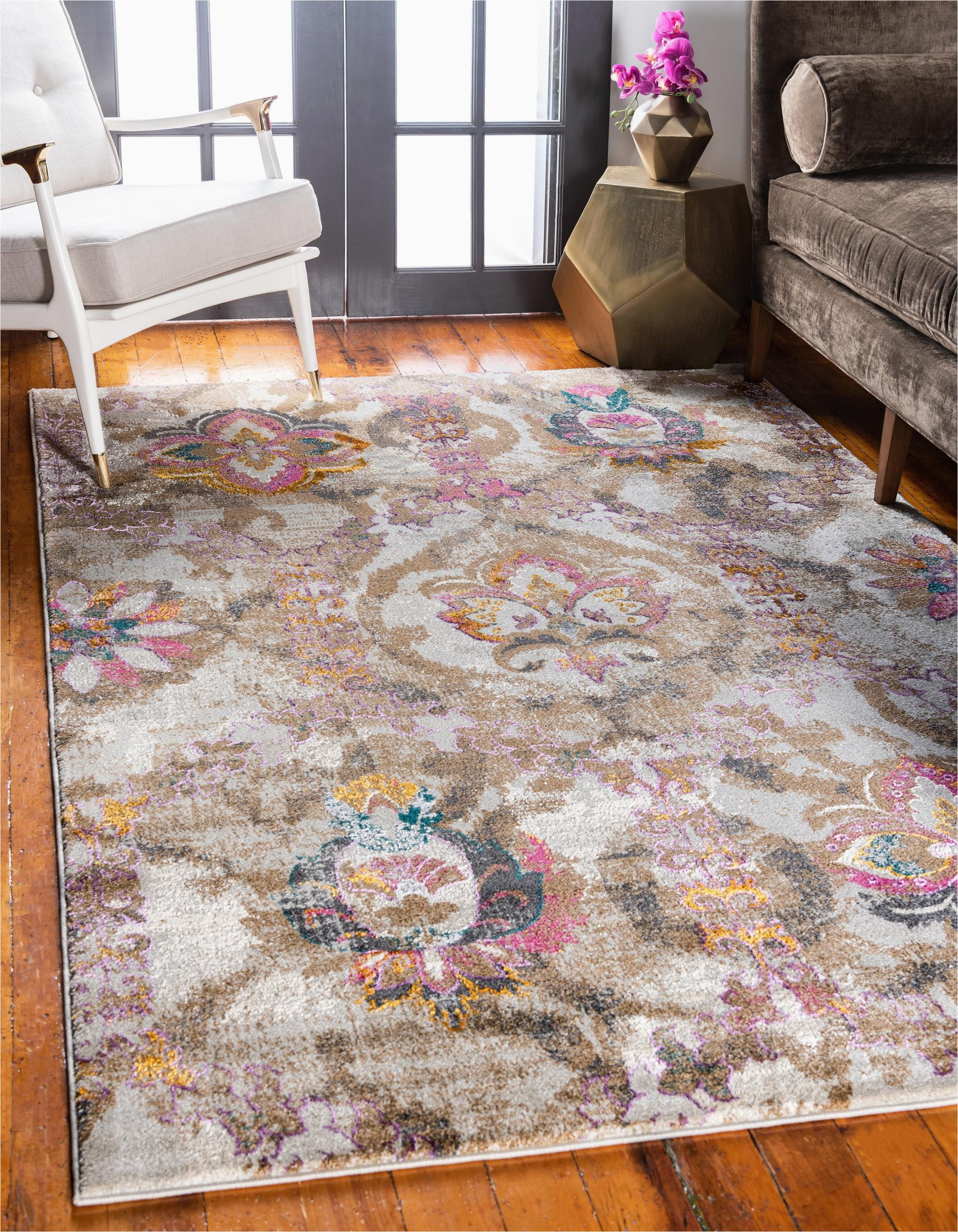 Bed Bath and Beyond area Rugs 5×8 Beige 5 X 8 Delilah Rug Rugs