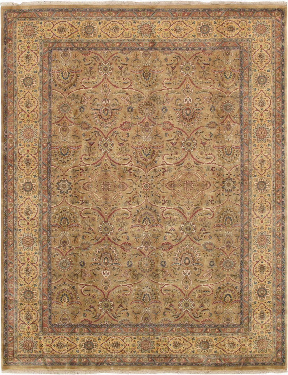 p 701 gold 9x12 tabriz collection hand knotted lambs wool area rug yellow 9 ft 2 in x 11 ft 10 in ef ce3840ffb8113ea83ef8b13c p
