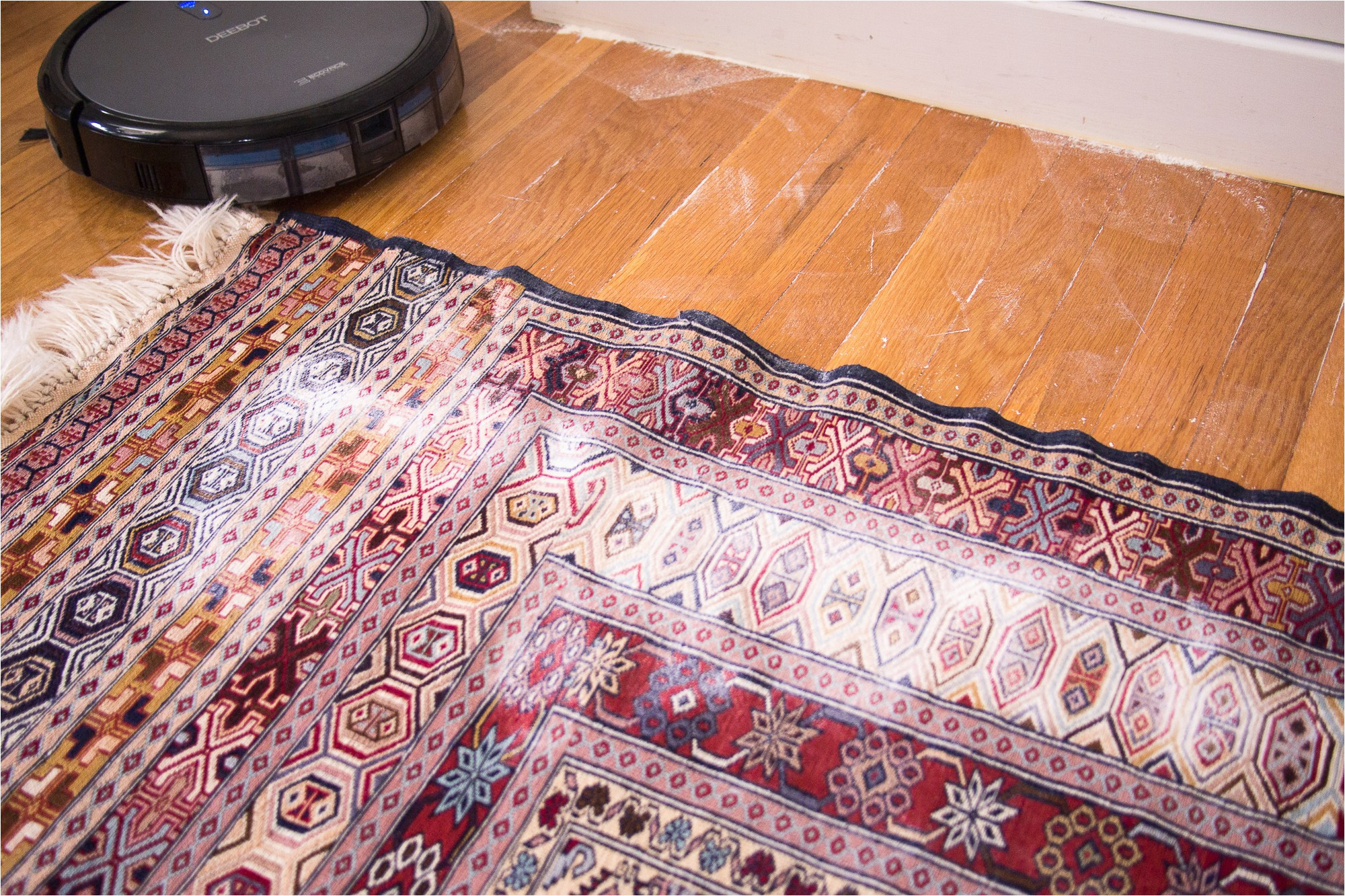 Best Robot Vacuum for area Rugs Roomba 980 Rug Fringe