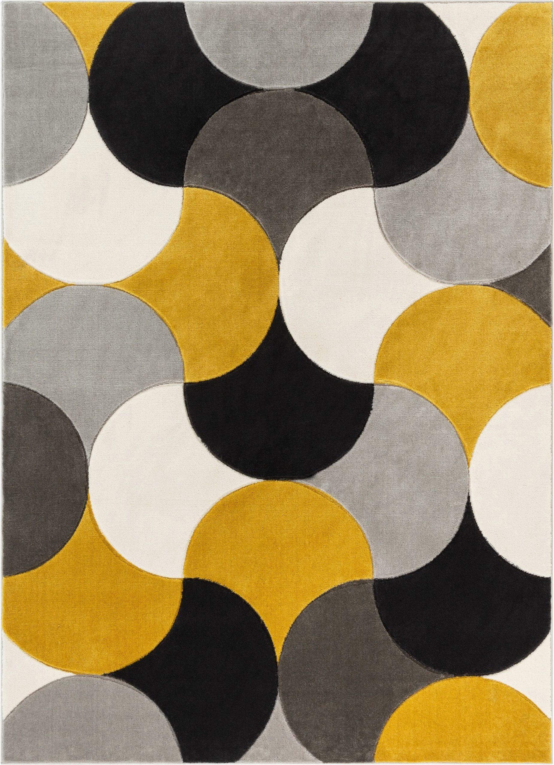 helena power loom goldgrayblack rug