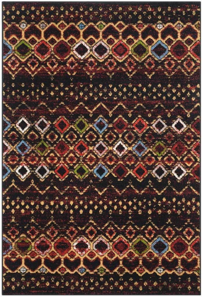 Black Multi Color area Rugs Amsterdam Black Multi area Rug
