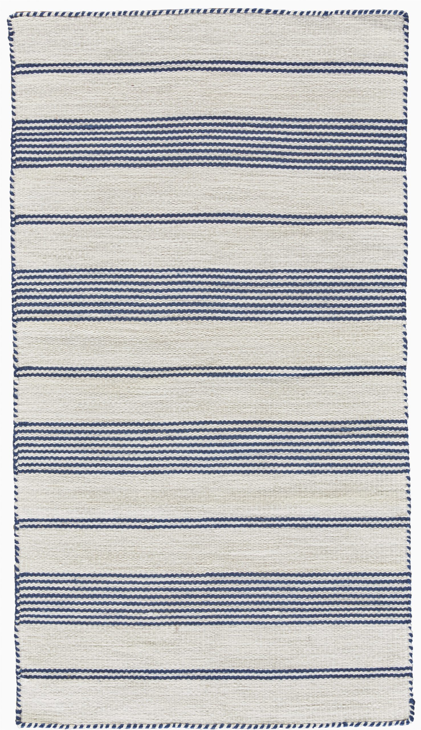 robie bluecream area rug