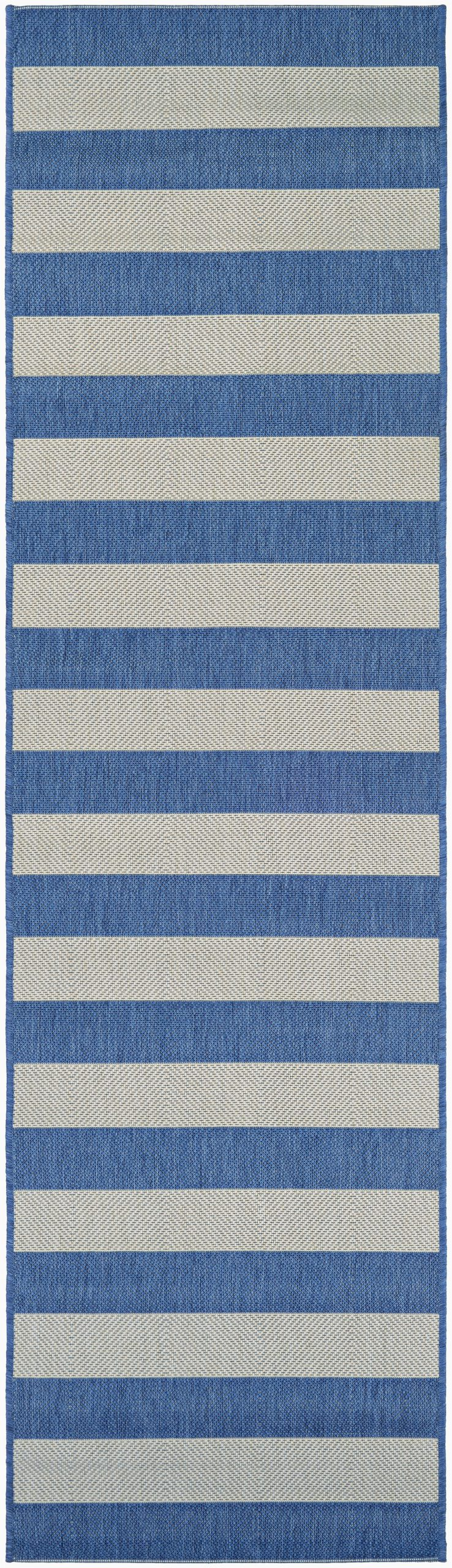 blue striped area rugs c a1247 a