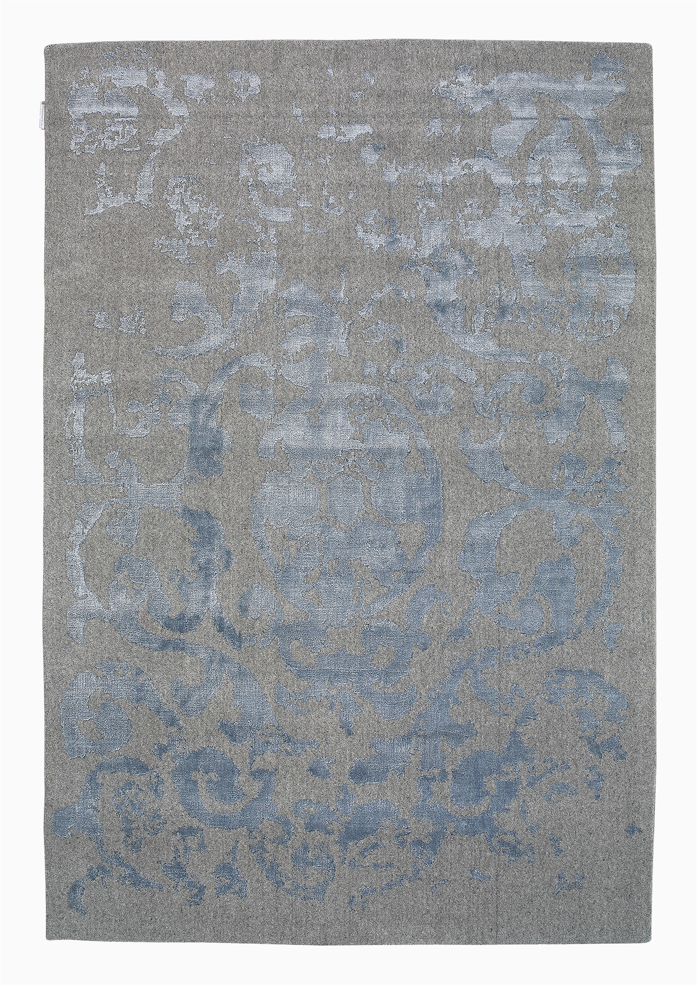 vienna 51 grey bluetransitional wool rug