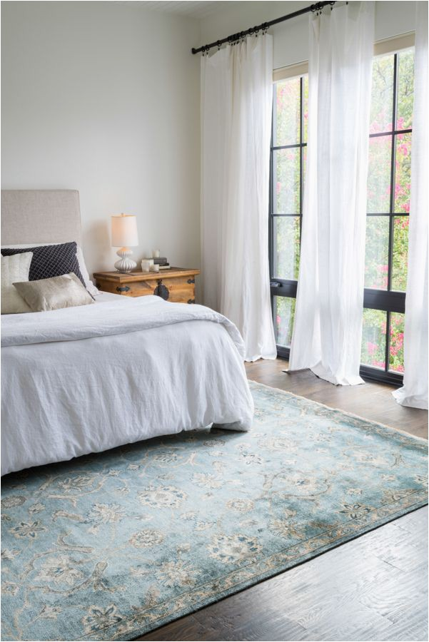 Blue and White Bedroom Rug Currently Craving Statement Rugs for Every Space