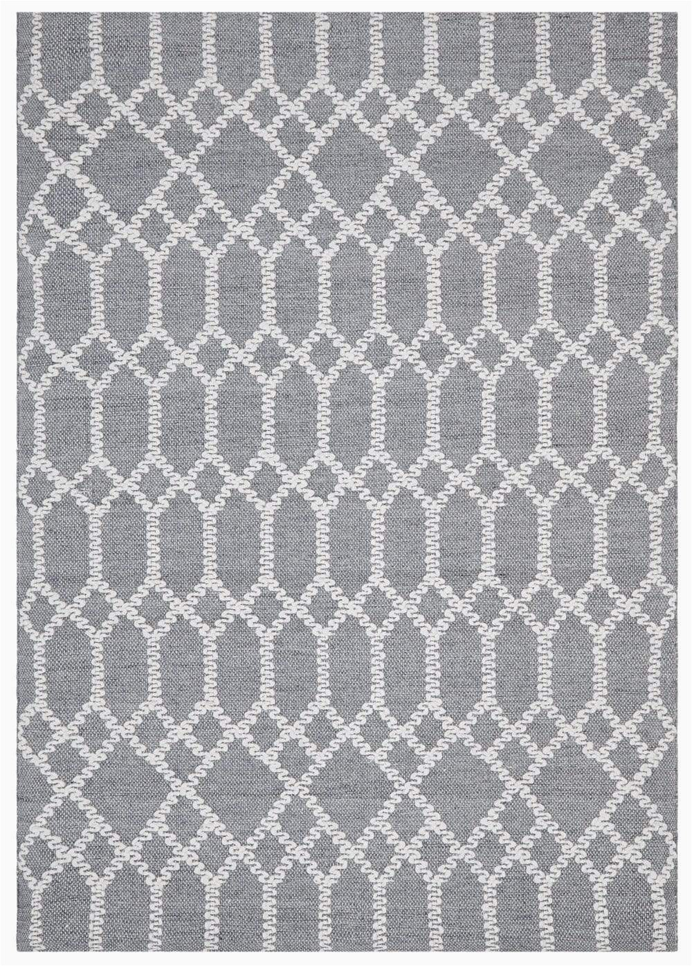 Blue and White Patterned Rug Breckenridge Dark Blue and Ivory Geometric Pattern Rug