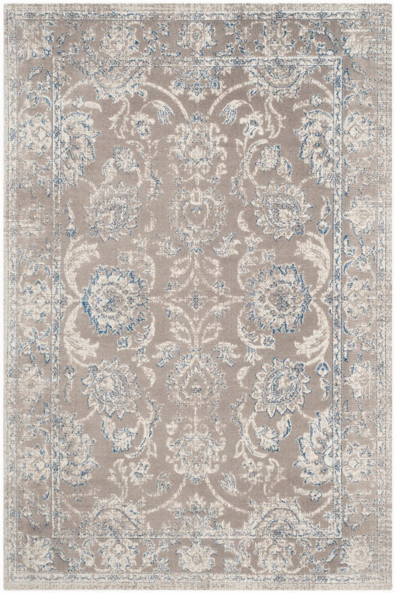 Blue Gray and Taupe area Rug Safavieh Patina Ptn316b Taupe Blue area Rug