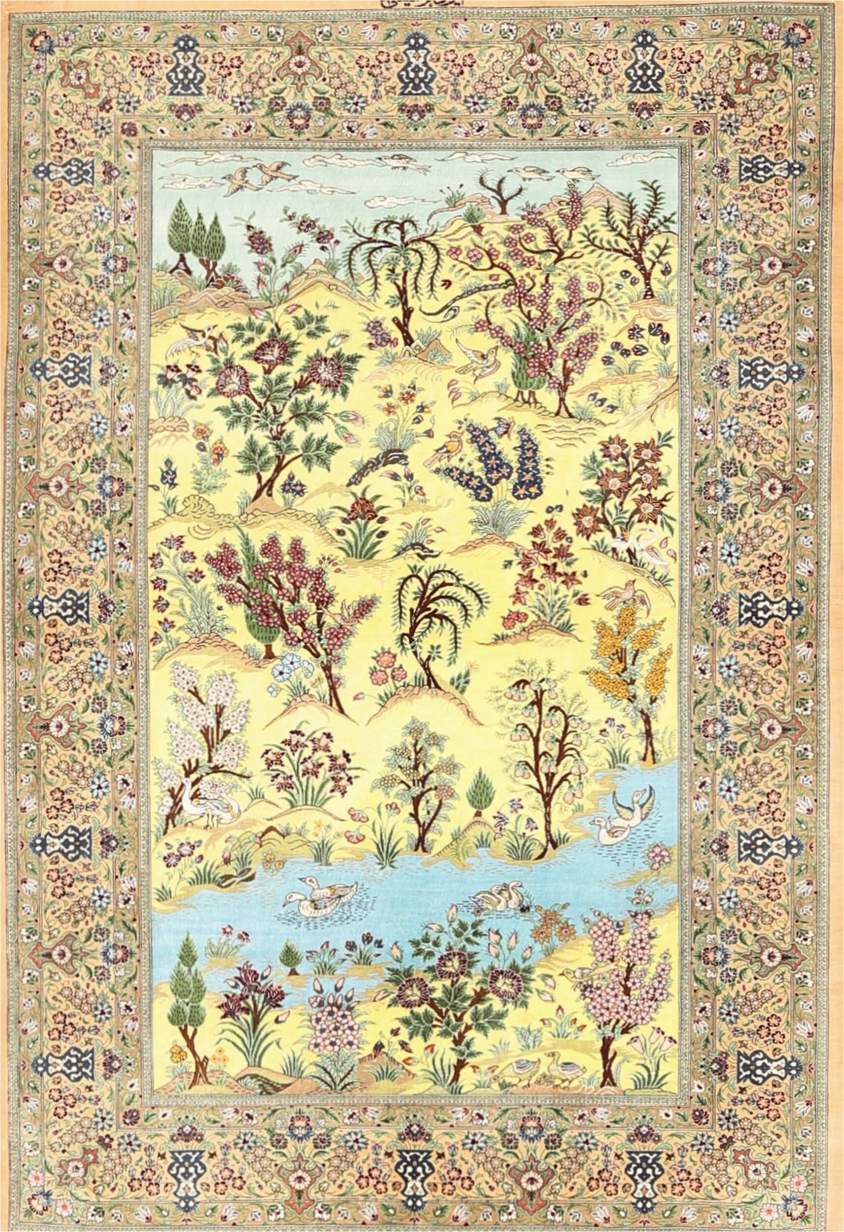 feltault traditional greenbluebrown area rug