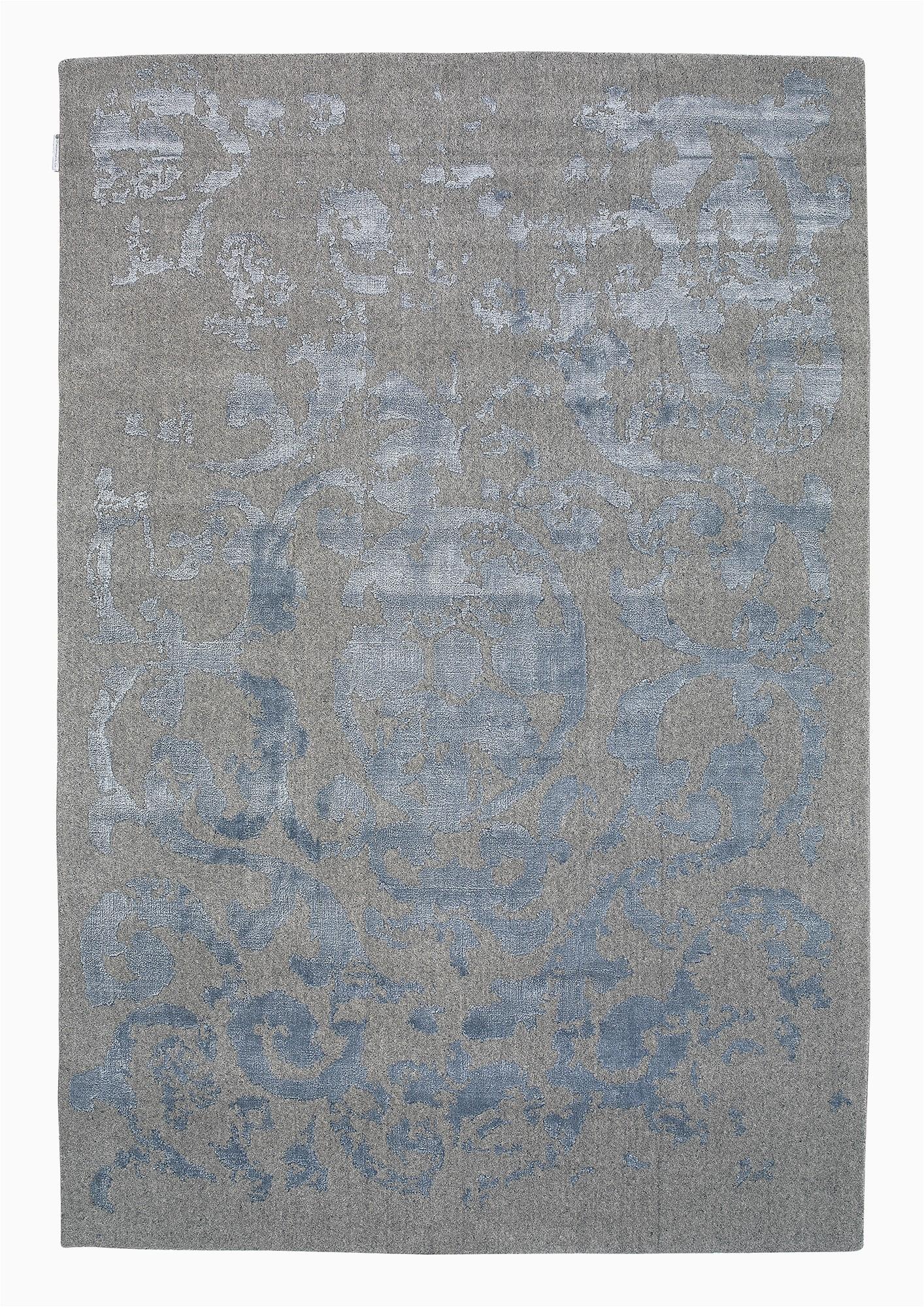 vienna 51 grey bluetransitional wool rug