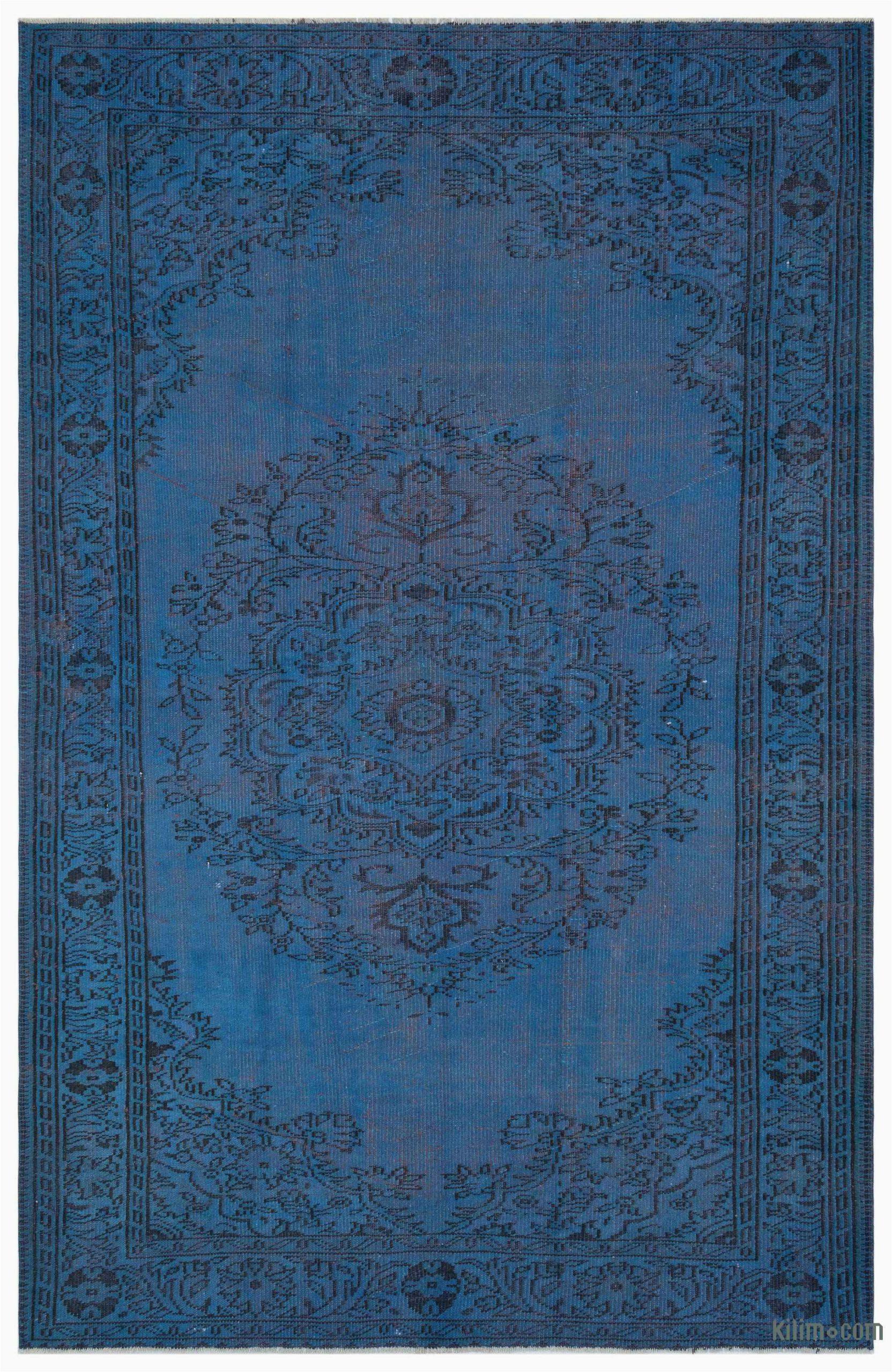 k over dyed turkish vintage rug