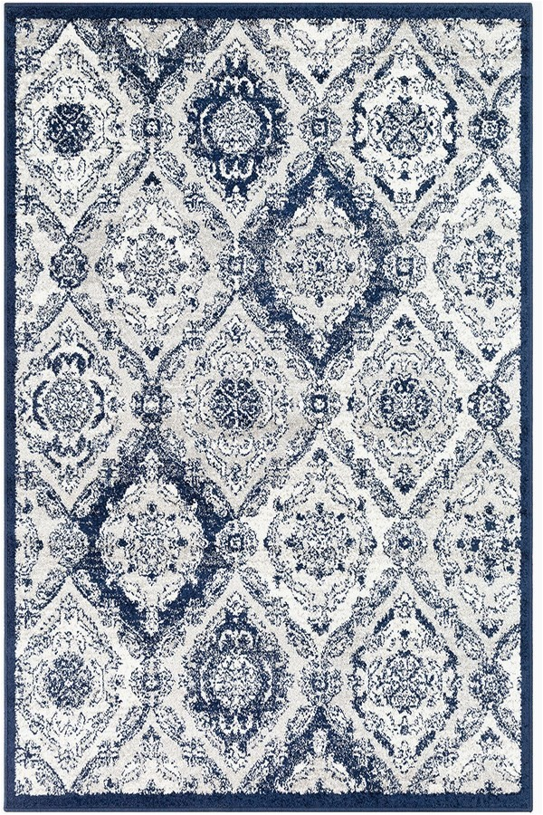 Blue Transitional area Rugs Surya Seville Sev 2304 area Rugs
