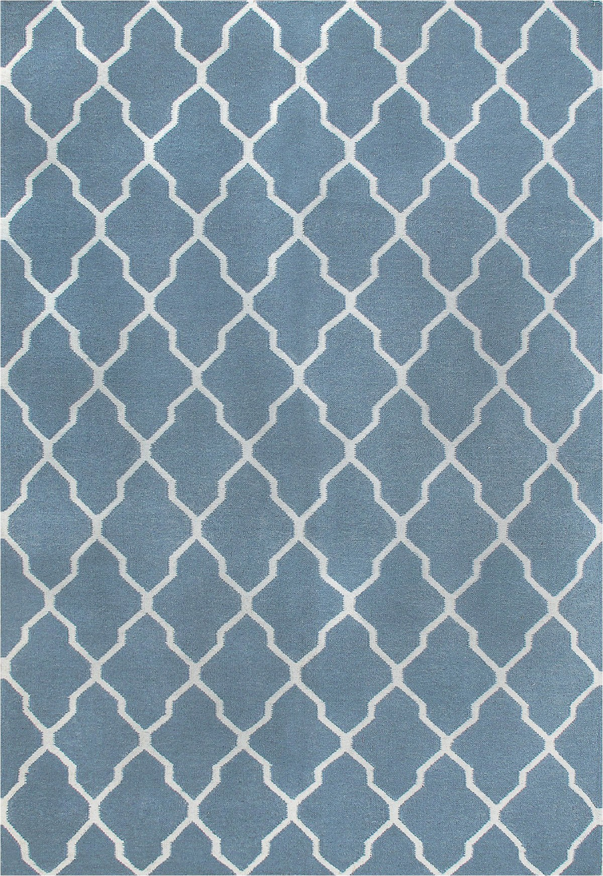 rugsville kilims light blue wool 810 rug 8x10