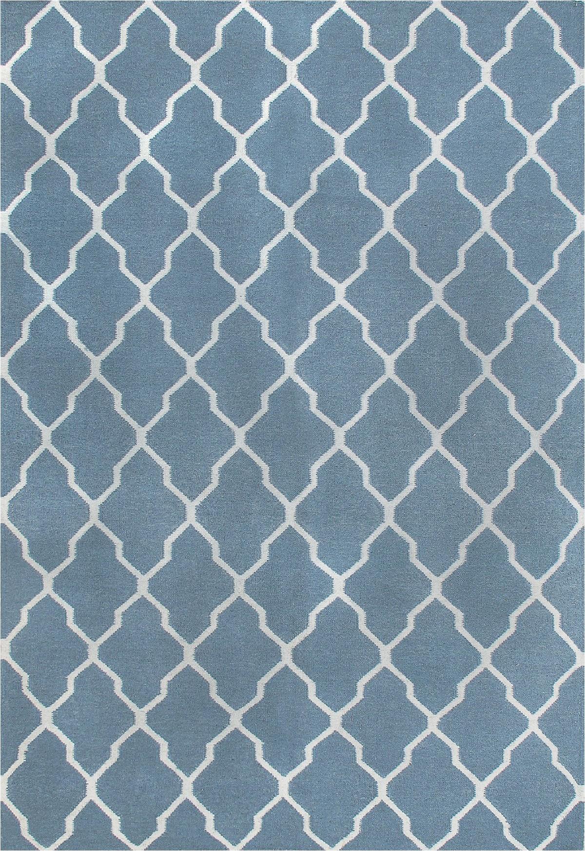 rugsville kilims light blue wool 810 rug 8x10