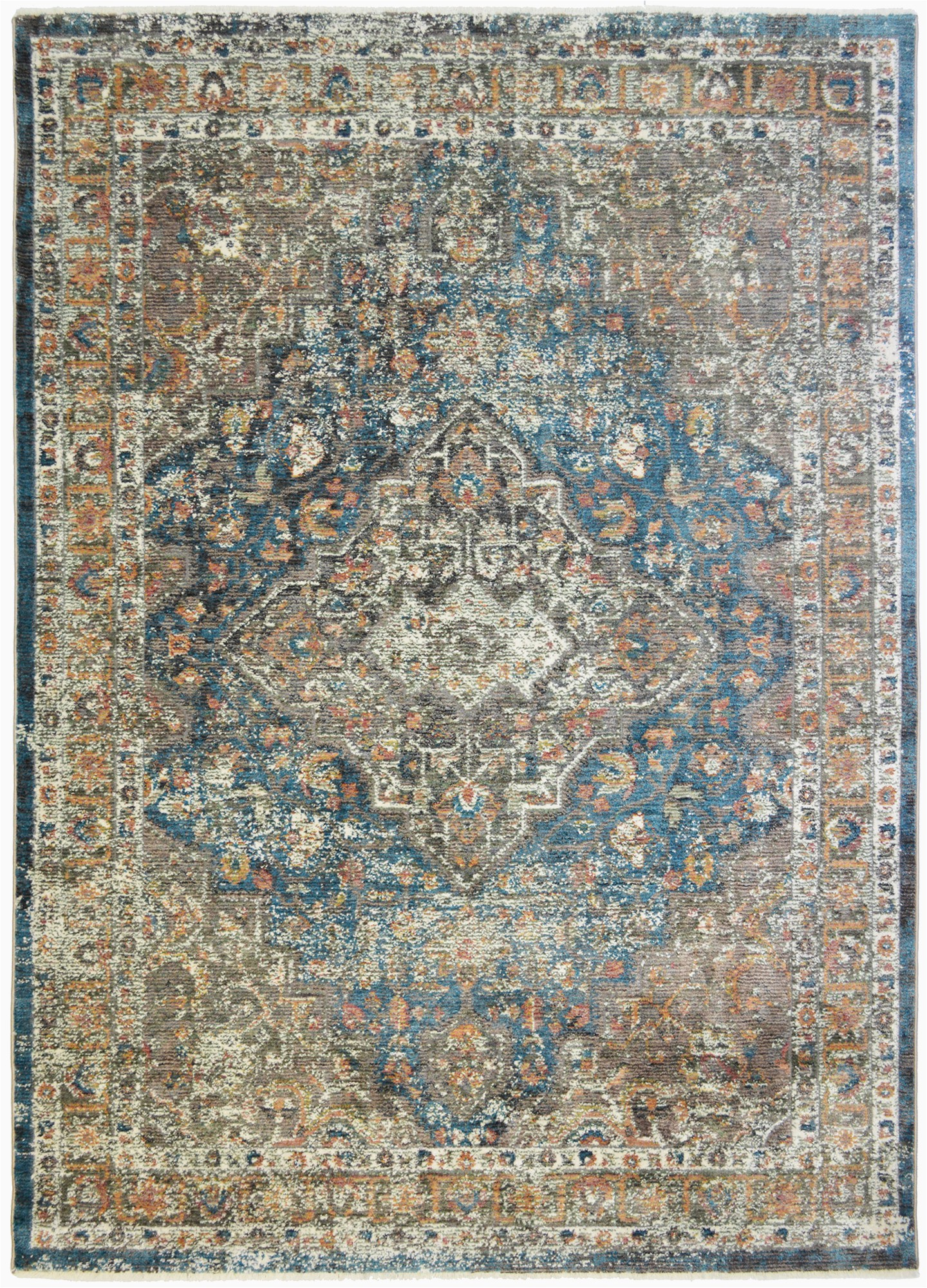 Brown and Blue area Rug Walmart Mayberry Oxford Castle Blue area Rug