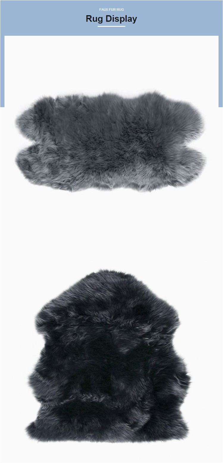 Cheap Faux Fur area Rugs Cheap 8×10 Kid Hotel Lobby Fluffy Grey Faux Fur area Rug