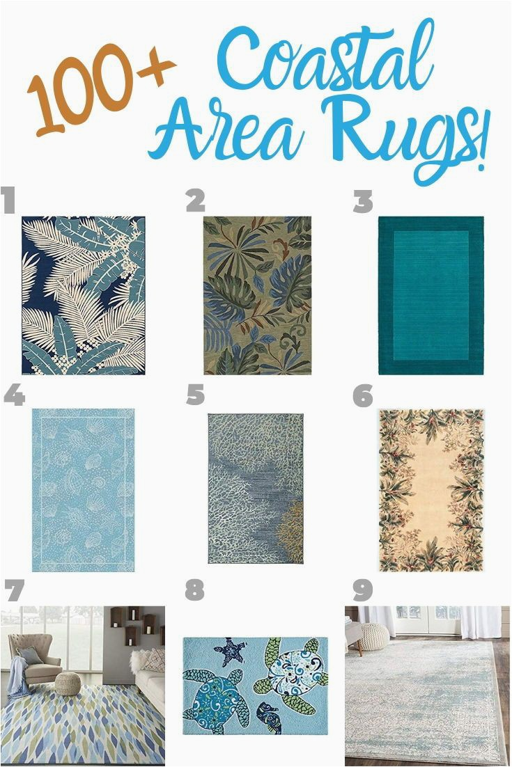 Coastal Living Room area Rugs Beach area Rugs Beachfront Decor In 2020