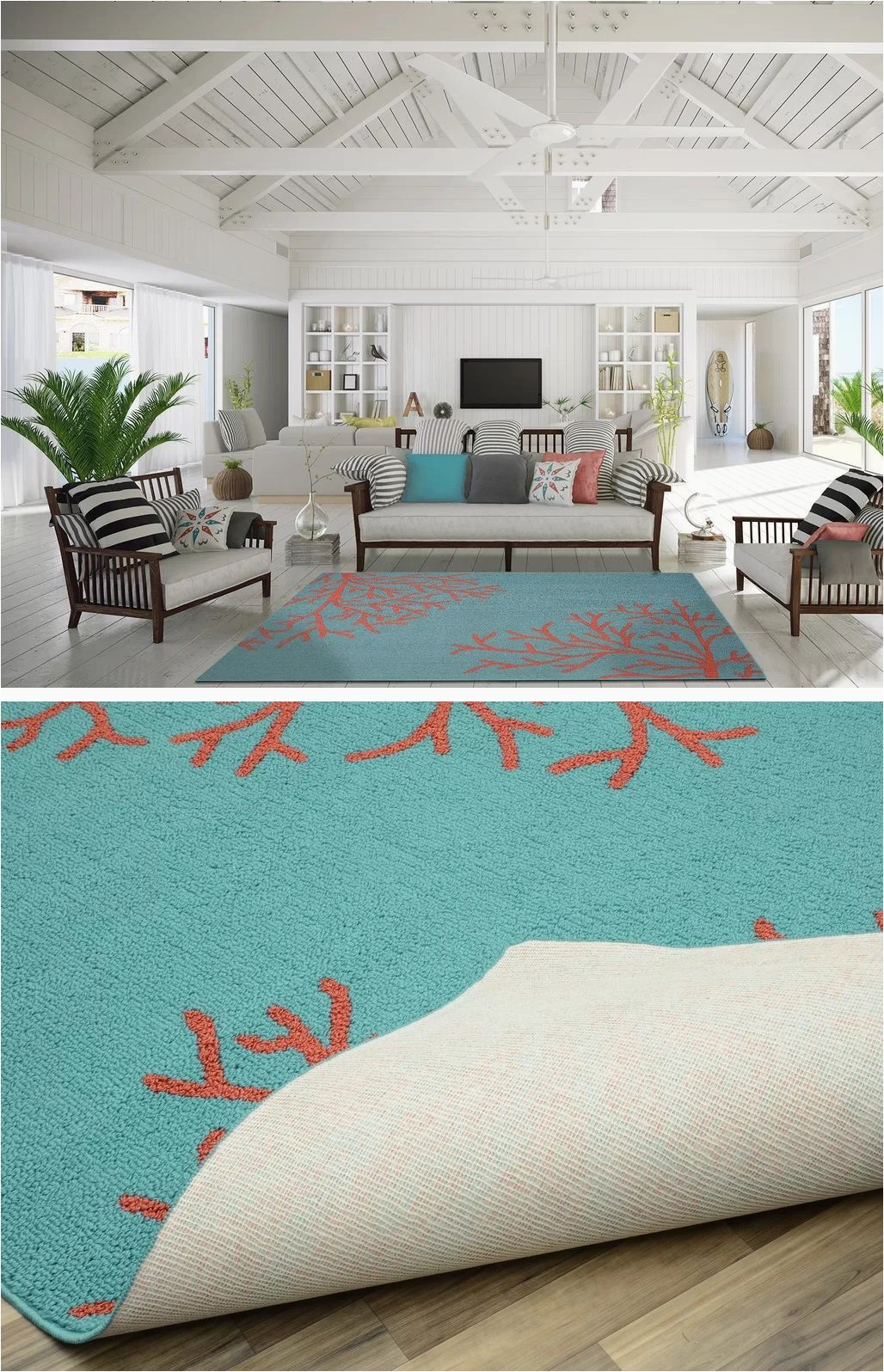 Coastal Living Room area Rugs Coastal Rugs & Coastal area Rugs Beachfront Decor