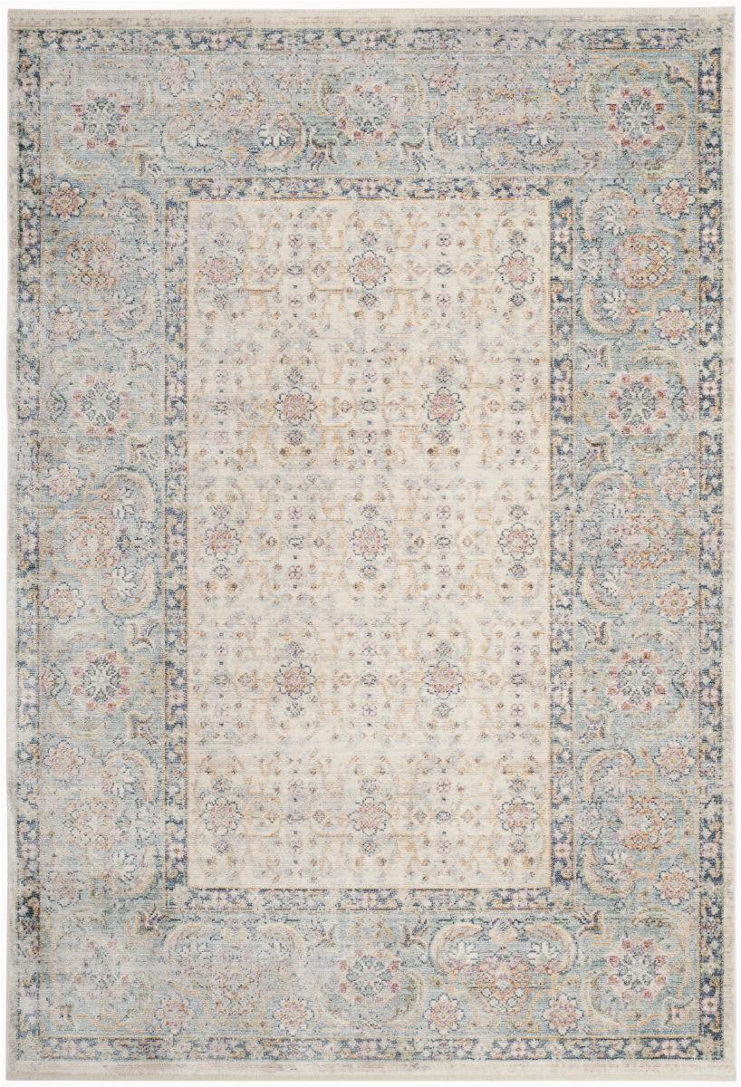 safavieh illusion ill701b cream light blue area rugx