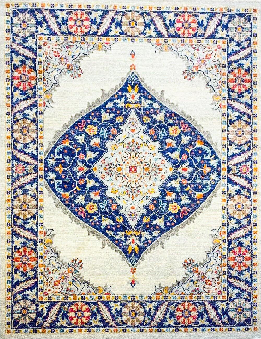 remziye jutesisal creamnavy blue area rug