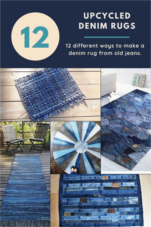 blue jean rug 9 unique ways