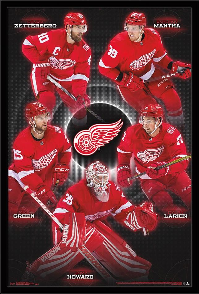 Detroit Red Wings area Rug Detroit Red Wings Team