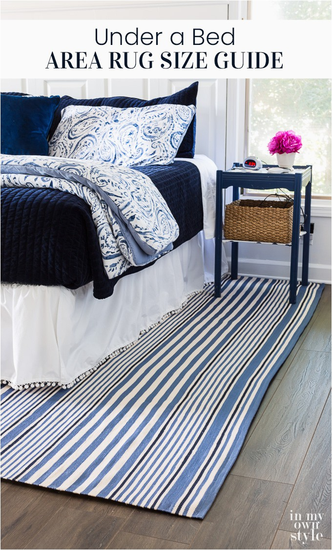 Under a bed area rug size guide for home decorators
